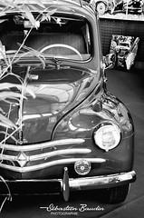 Renault 4CV (Seb BAUDIN) Tags: nikon d7000 noir et blanc black white monochrome morbihan bretagne brittany breizh ouest motors festival 2018 sébastien baudin