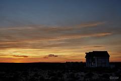 Não me pise as flores. (jcof) Tags: portugal olhao armona isla formosa sunset atardecer ocaso casas houses clouds nubes dunas playa beach