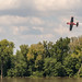 An aeronautical afternoon above the shores of the Ohio