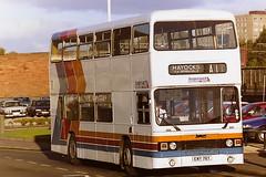 STAGECOACH A1 SERVICE 906 EWY76Y (bobbyblack51) Tags: stagecoach western scottish 906 ewy76y leyland olympian roe west yorkshire pte 5076 saltcoats 1995