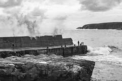 It's behind you! (buffer353) Tags: wave sea angler ness scotland