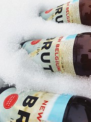 When you run out of room in the fridge, stick the beer outside (Roundy Photo) Tags: snowstorm ice missouriphotos missouri kcmo kansascity winter snow brut newbelgium beer