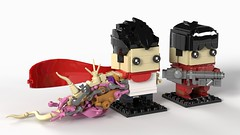 Tetsuo & Keneda Akira BrickHeadz MOC (headzsets) Tags: lego legos photography brickheadz brickhead brickheads brick head heads minifigure minifigures anime manga otaku akira tetsuo keneda toys funko pop moc mocs
