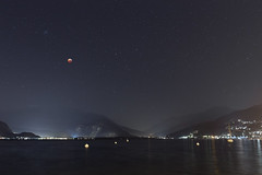 Lunar eclipse over Lake Maggiore (europeanspaceagency) Tags: esa europeanspaceagency space universe cosmos spacescience science spacetechnology tech technology youresa instagram lunareclipse eclipse2019 totallunareclipse luna moon lake humanspaceflightimageoftheweek lakemaggiore lago europe italy italia