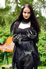 The evil (Axel Khan) Tags: dasböse frau böse kostüm fantasie karneval fasching hübsch schön gruselig angst theevil woman evil costume fantasy carnival pretty beautiful creepy fear