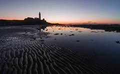 Turnberry_Ayrshire (marchislop) Tags: sunset sundown winter coast twilight bluehour sea firthofclyde clyde lighthouse turnberry ayrshire trump donaldtrump ripple leadinglines clearsky beach