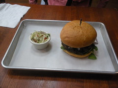 lamb burger from Ziggy's Burgers (Danny / ixfd64) Tags: ixfd64 nikon coolpix