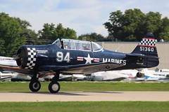 N694US-OSH-27-07-2018 (swbkcb) Tags: n694us snj4 texan usmarines midnightexpress osh kosh oshkosh eaaairventure2018