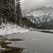 Eibsee in snow