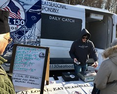 Fresh fish from the Jersey coast (buhrayin) Tags: fish local130 new jersey point pleasant fishing fresh farmers market chestnut hill