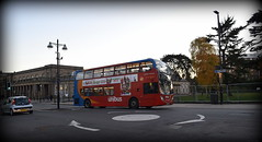 Circular surface: A Stagecoach Midlands Unibus-branded Enviro 400 (paulburr73) Tags: