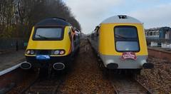 43467 & 41001 (Sam Tait) Tags: class 43 power car hst high speed train 41 41001 43467 buffer rail railway valenta