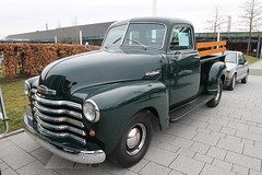 Chevrolet 3100 Thriftmaster Pickup (1948) (Mc Steff) Tags: chevrolet 3100 thriftmaster pickup 1948 retroclassicsstuttgart2018 chevy advancedesign