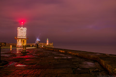 I am John the Fisherman (alan.thecannon) Tags: whitehaven fisherman night lighthouse seascape landscape long exposure fishing cumbria lakes lake district west england north coast coastal time sunset