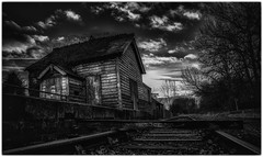 Swanbourne Disused Railway Station (marselius1) Tags: mirrorless 2470 zeiss a7 faded old platforms wooden house derelict buckinghamshire station railway disused swanbourne sony