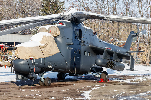 Hungarian Air Force (HuAF) | Mil Mi-24P | 335 | MH 86  Szolnok