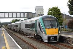 Irish Rail ICR Set 36 in Athenry. (Fred Dean Jnr) Tags: iarnrodeireann irishrail icr 22036 athenrystationgalway september2016 galway athenry intercityrailcar mgwr midlandgreatwesternrailway railcar