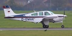 Beech F33A Bonanza D-EMAK Lee on Solent Airfield 2018 (SupaSmokey) Tags: beech f33a bonanza demak lee solent airfield 2018