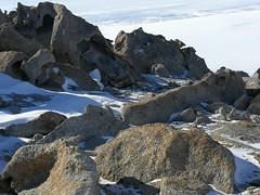 Tafoni - erodierter Granit am Mt Keinath
