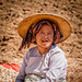 Myanmar lady.