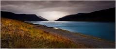 Hestfjörður (niggyl (getting there)) Tags: panorama widescreen vestfirðir weather mist rain stormclouds storm seascape landscape inspiredbyiceland cloudsstormssunsetssunrises therebeastormabrewin fujifilmxf18mmf2r fujixf18mm fujifilmxf182r fujixt2 xt2 fujifilmxt2 contrejour fjords iceland ísland westfjörds westfjörðs hestfjörður