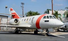 Falcon 20 | 2114 | VNY | 20181010 (Wally.H) Tags: dassault falcon20 uscg unitedstatescoastguard 2114 vny kvny vannuys airport