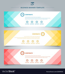 Set of banner web templates geometric header design background. (abernathy1447) Tags: banner design header web template background vector abstract business horizontal layout set website geometric modern advertising creative graphic illustration corporate presentation card concept label blue element collection banners cover blank style frame sign white tag colorful technology color marketing pattern decoration promotion digital ad space minimal commercial discount tech geometry