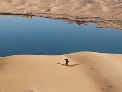 Lago Sumu Barun Jaran. Desierto de Badain Jaran. China (escandio) Tags: otros lago detalles china2018 china badainjaran 2018 2 mongoliainterior