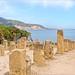 Les ruines de la ville romaine (Tipaza, Algérie)