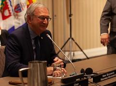 Premier/premier ministre Higgs during the Premiers' meeting/durant la rencontre des premiers ministres des P-T