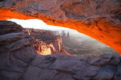 Mesa Arch - Canyonlands (Bernie Duhamel) Tags: mesaarch canyon canyonlandsnationalpark utah sonya7riii greatphotographers teamsony bernie duhamel sunrise