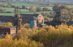 Chatterley Whitfield 11 nov 18 (Shaun the grime lover) Tags: autumn derelict industrial coal mine colliery tunstall chell staffordshire chatterleywhitfield pit pithead headgear headstock