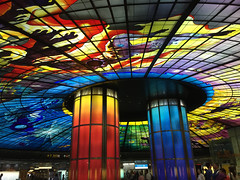 khh124dome (invisiblecompany) Tags: 2018 travel taiwan kaohsiung dome stainedglass glass