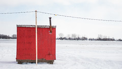 La Rouge (streetviewannie) Tags: icefishing fishing winter hiver fleuvestlaurent stlawrenceriver quebec naturephotographie bealpha sonyalpha alphafemale naturephotography nature sonyimage