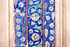 TILE00217 (NORTHERNLIGHTS IMAGES) Tags: tile pattern background islamic floral turkish design blue iznik illustration ceramic decoration art traditional culture vintage islam seamless wallpaper oriental decor old white arabic ornamental architecture ottoman ornament decorative istanbul flower antique red mosque ornate turquoise vector texture tulip beautiful turkey abstract element morocco black green retro motif arabesque east