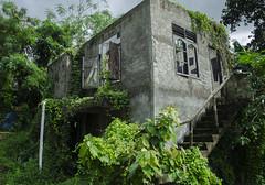 Perdidos (Oha-Lau 2) Tags: nikond7000 nikon bali perdidos lost abandoned abandonado dark oscuro verde green ruins ruinas old building edificio viejo windows shutters