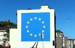 Dover Banksy Mural (Christopher DunstanBurgh) Tags: dover banksy mural graffito brexit eu uk horror disaster europe europa