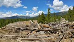 Mining Ruins along Route of the Silver Kings, Leadville, CO 2 (19) (chfstew) Tags: chfstew colorado colakecounty ruins