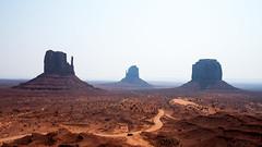 Way out (M a u r i c e) Tags: monumentvalley usa wideangle ultrawidezoom car erosion nature landscape canon efs1022mmf3545usm road