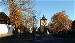 Day 320 (kostolany244) Tags: 3652018 onemonth2018 november day320 16112018 kostolany244 samsunggalaxys5 europe germany geo:country=germany month panorama trees church 365the2018edition