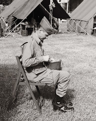 Waxahachie WWII Weekend - In the Camps (d-day buff) Tags: livinghistory reenactment wwiihistory wwiiweekend waxahachie waxahachiewwiiweekend camp livinghistoryreenactmentwwiihistorywwiiweekendwaxahachiewaxahachiewwiiweekend
