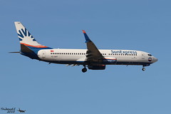 Boeing 737 -8HC(WL) SUNEXPRESS TC-SNT 40755 Francfort septembre 2018 (Thibaud.S.) Tags: boeing 737 8hcwl sunexpress tcsnt 40755 francfort septembre 2018