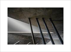 intermissions (ekkiPics) Tags: architecure modern concrete form shape abstract columns zaha hadid strasbourg hoehnheim tram gare