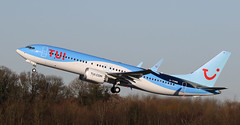 Max (Treflyn) Tags: tui boeing 7378 737 738 max gtumb take off manchester airport bound las palmas gran canaria canary islands