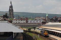 20305+20308 Bolton, Manchester (Paul Emma) Tags: uk england railtour choppertopper 37419 20305 20308 railway railroad bolton manchester