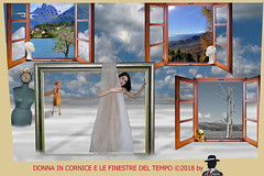 DONNA IN CORNICE E...... (ADRIANO ART FOR PASSION) Tags: cornice finestre windows donna woman surreale adrianoartforpassion frame manichino orologio pollospennato ore1550 primavera autunno inverno spring autumn winter fotomontaggio photoshop fotografie photomontage clipart nikon d90 18200 photoshopcreativo