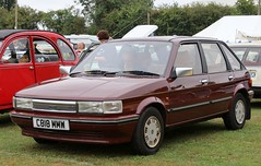 C818 MMW (4) (Nivek.Old.Gold) Tags: 1986 austin maestro vanden plas auto 1598cc