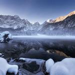 Winter at Fusine lake thumbnail