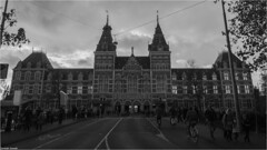 Rijks Museum (Sanketh Kamath) Tags: rijksmuseum amsterdam holland cyclists netherland europe