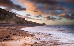 Cromer Beach (dpowley65) Tags: bigsky beach clouds sunset cromer